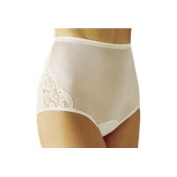 Vanity Fair 13001 Perfectly Yours Lace Trim Nylon Brief